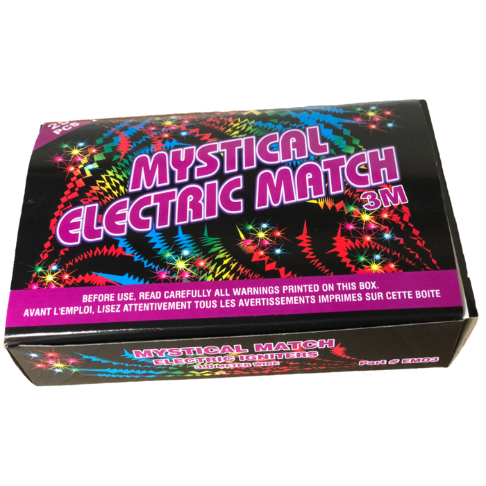 Electric Match 3. 0 Meter ( Box of 25)