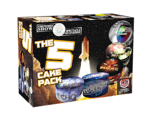 The 5 cake Pack